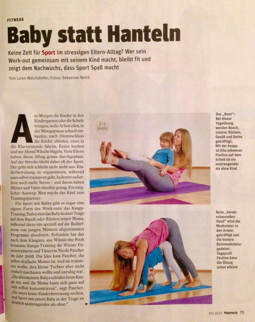 Yoga mit dem Baby, dem Kleinkind oder Kind macht Spaß und macht fit!