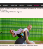 Yoga mit dem Baby-Titelbild