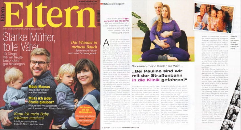 Freiraum im Eltern-Magazin