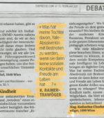 Presse-Debatte Philosophie des Freiraum-Instituts