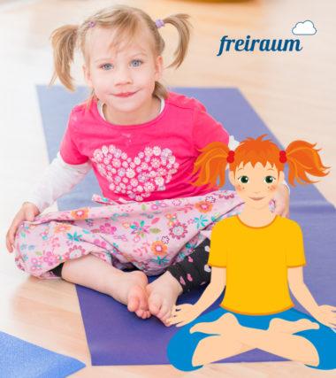 Mehr Bewegung: Kinderyoga Kurs in Wien für Kinder von 3 - 9 Jahren