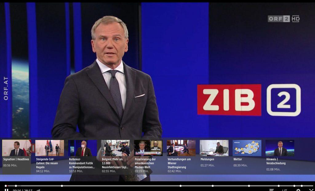 Armin Wolf von der ZIB2 präsentiert aktuelle Themen