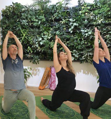 Sanfter Hatha-Yoga Kurs in Wien für Anfänger und leicht Fortgeschrittene