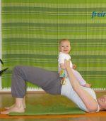 Mama-Baby-Yoga als Rückbildung